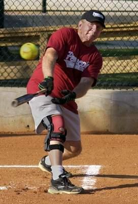 slow pitch softball injury
